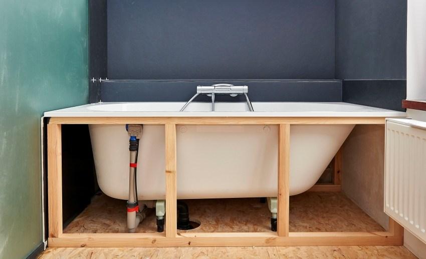 Как сделать экран для ванны