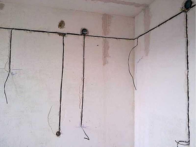 Как проштробить стену под электропроводку своими руками