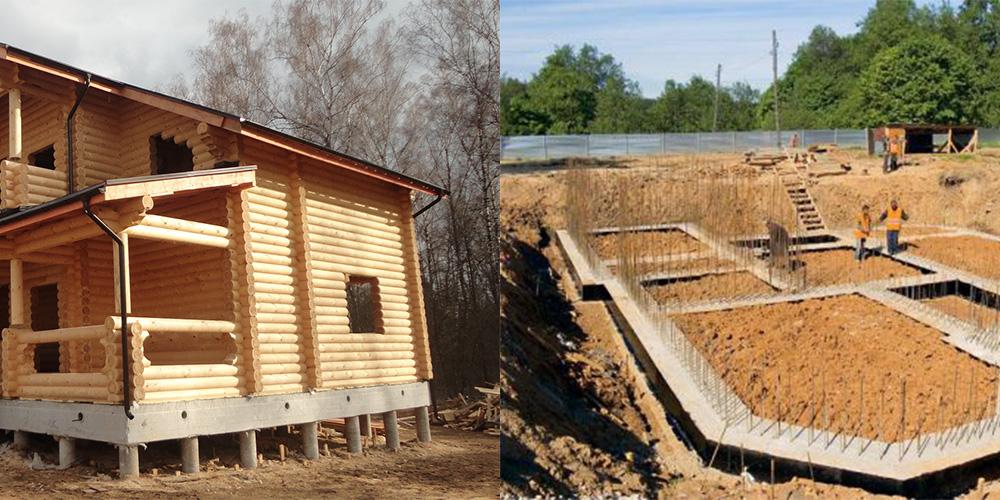 Какой фундамент выбрать для дома из бруса: типы и рекомендации, какой фундамент дома выбрать