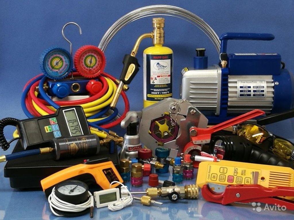 Набор инструментов для монтажа и сервисного обслуживания кондиционеров