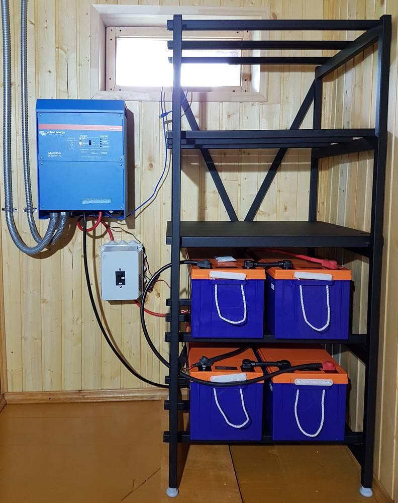 Как выбрать накопитель электрической энергии для частного дома