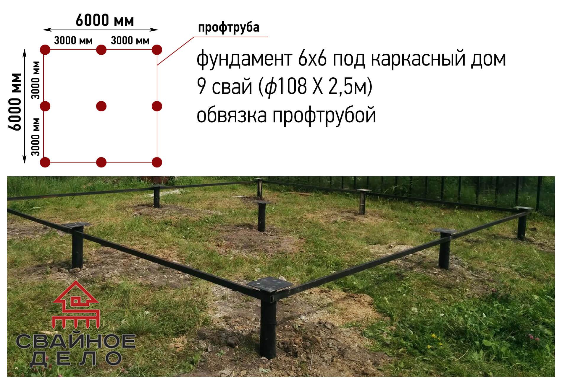 Как правильно сделать обвязку фундамента из бруса на винтовых сваях