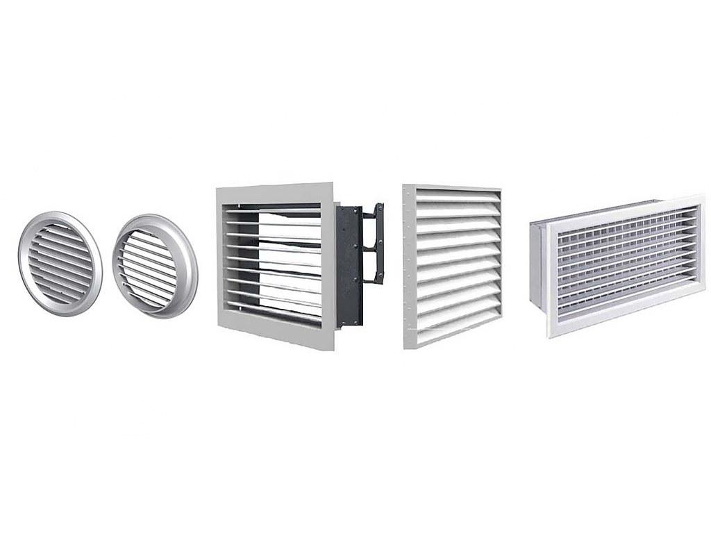 Вентиляционные решетки для дверей в ванную, комнату, помещения