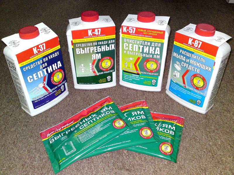 Особенности применения химических средств для очищения выгребной ямы в частном доме