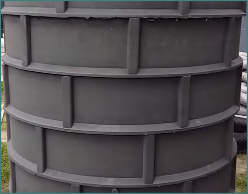 Полимерные (пластиковые) колодезные кольца