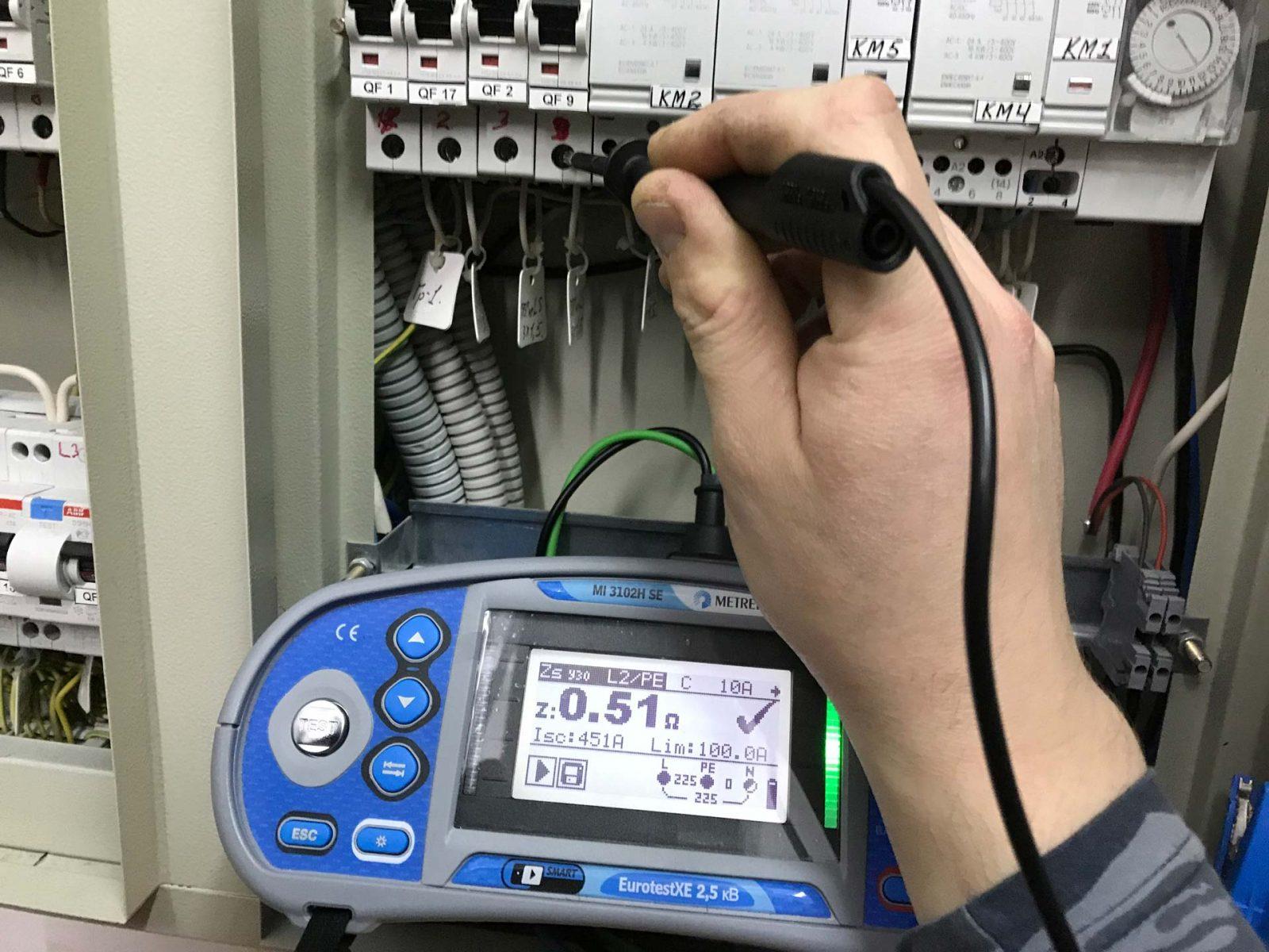 Расчет и методика измерения петли фаза ноль