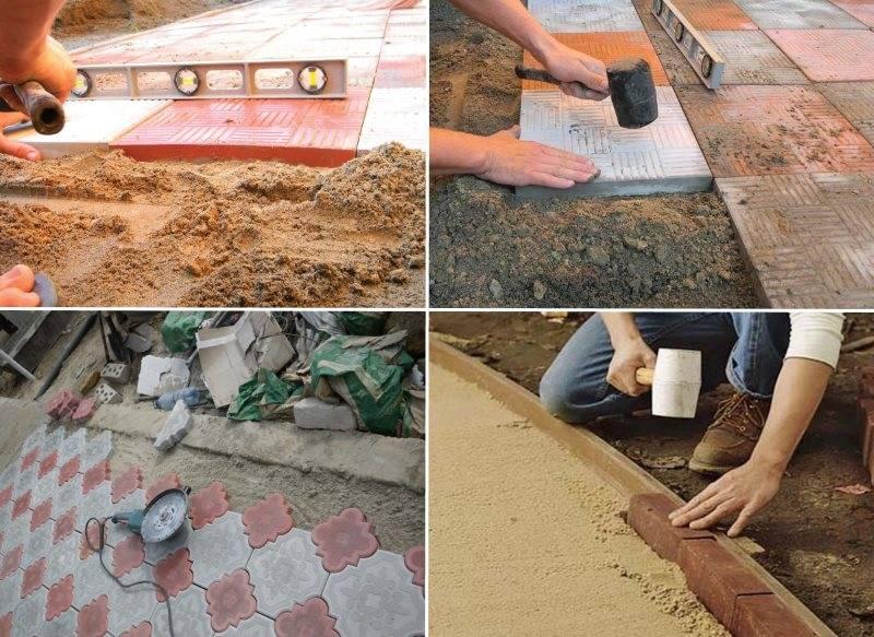 Изготовление брусчатки своими руками: формы для брусчатки и пошаговая инструкция по укладке
