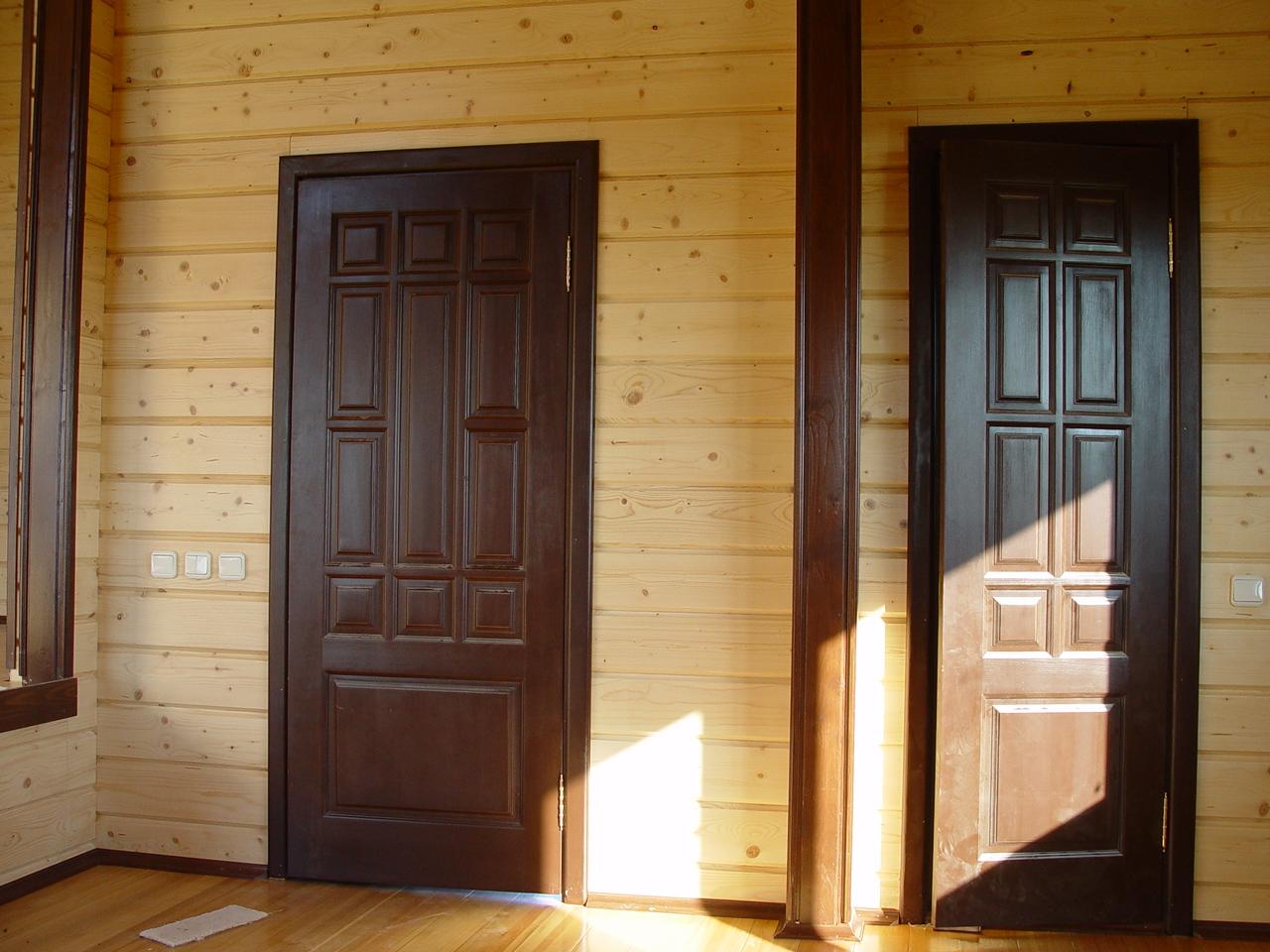 Как правильно установить банную дверь своими руками