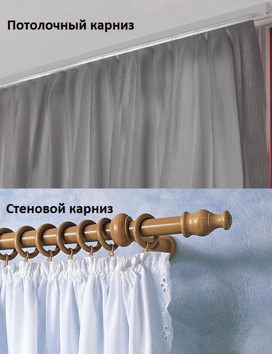 Как выбрать карнизы для штор