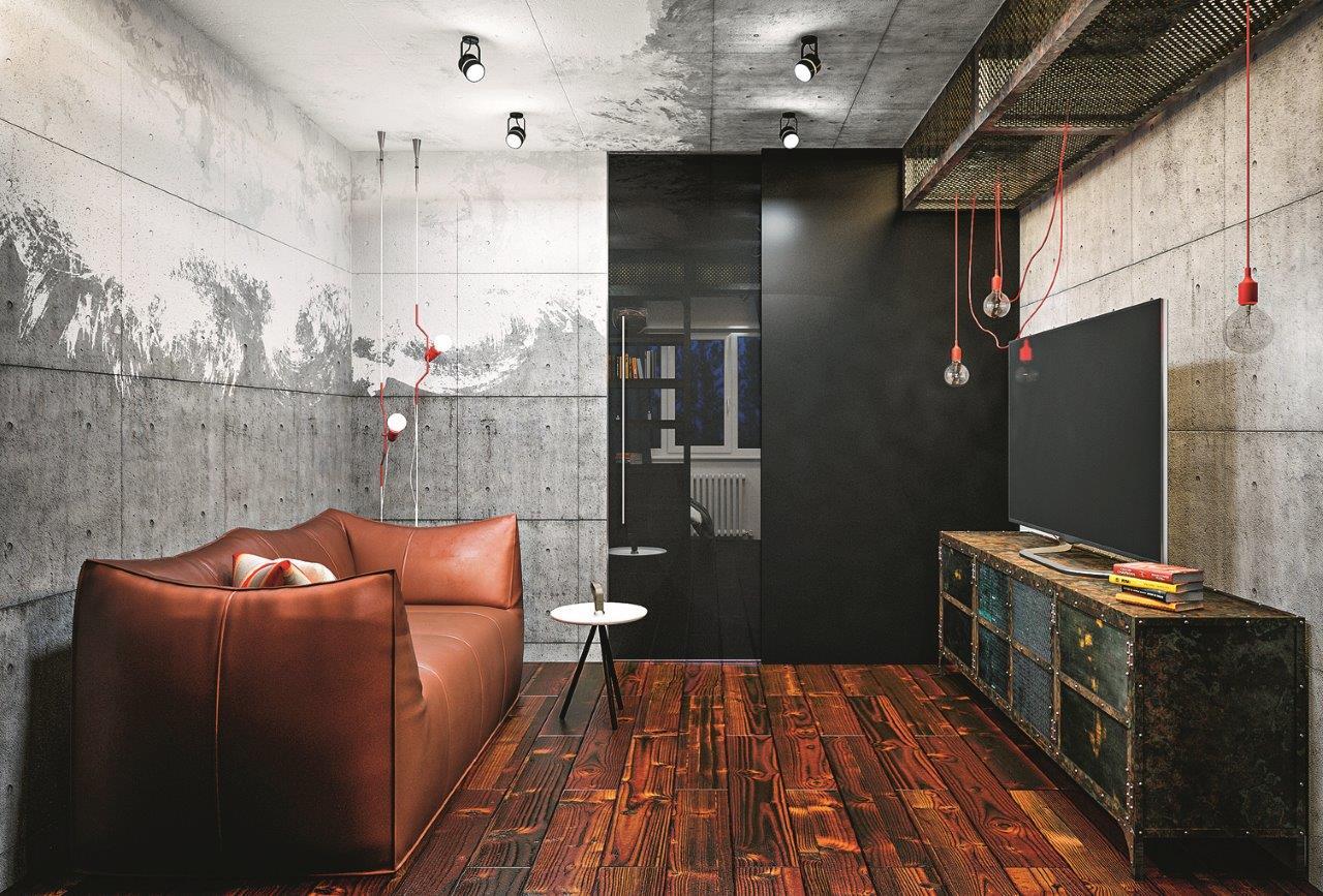 Как оформить лофт в маленькой квартире: 10 важных нюансов