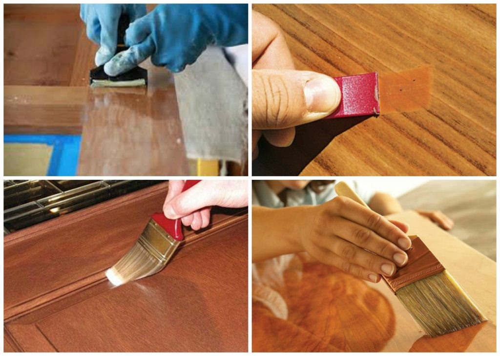 Как восстановить мебель: полированную, шпонированную, деревянную