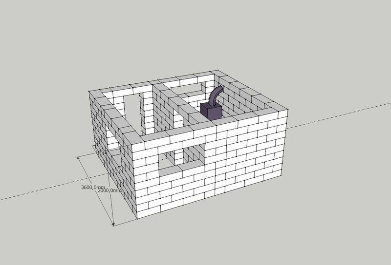 Технология строительства дома из газобетонных блоков