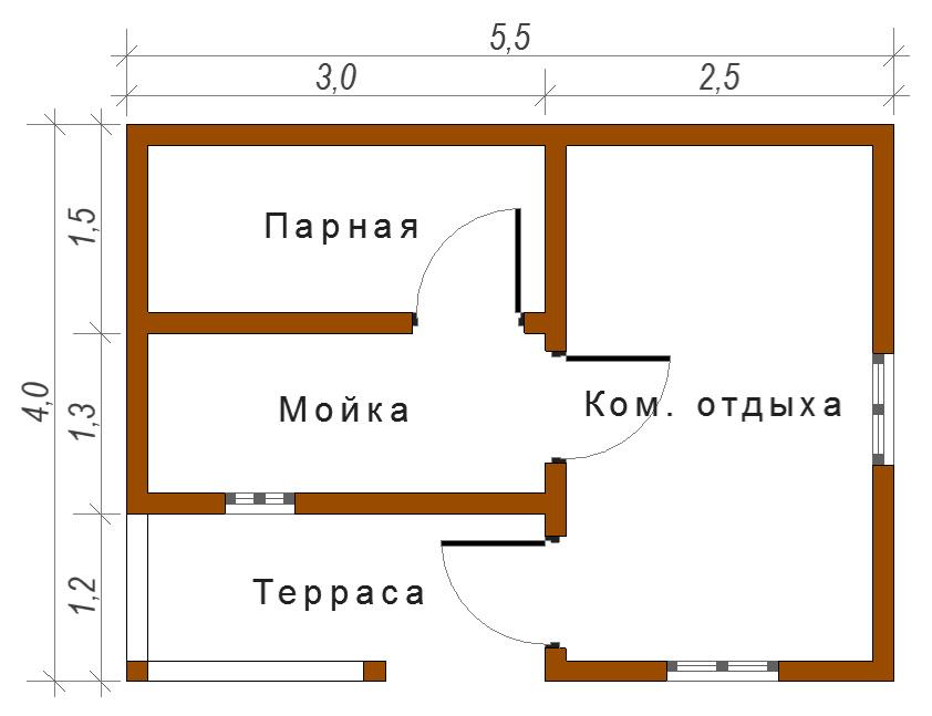 Как самостоятельно построить баню на дачном участке