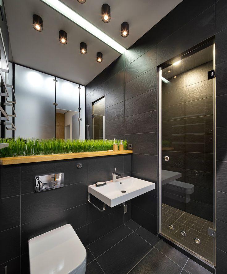 Интерьер ванной комнаты совмещенной с туалетом: процесс монтажа с фото