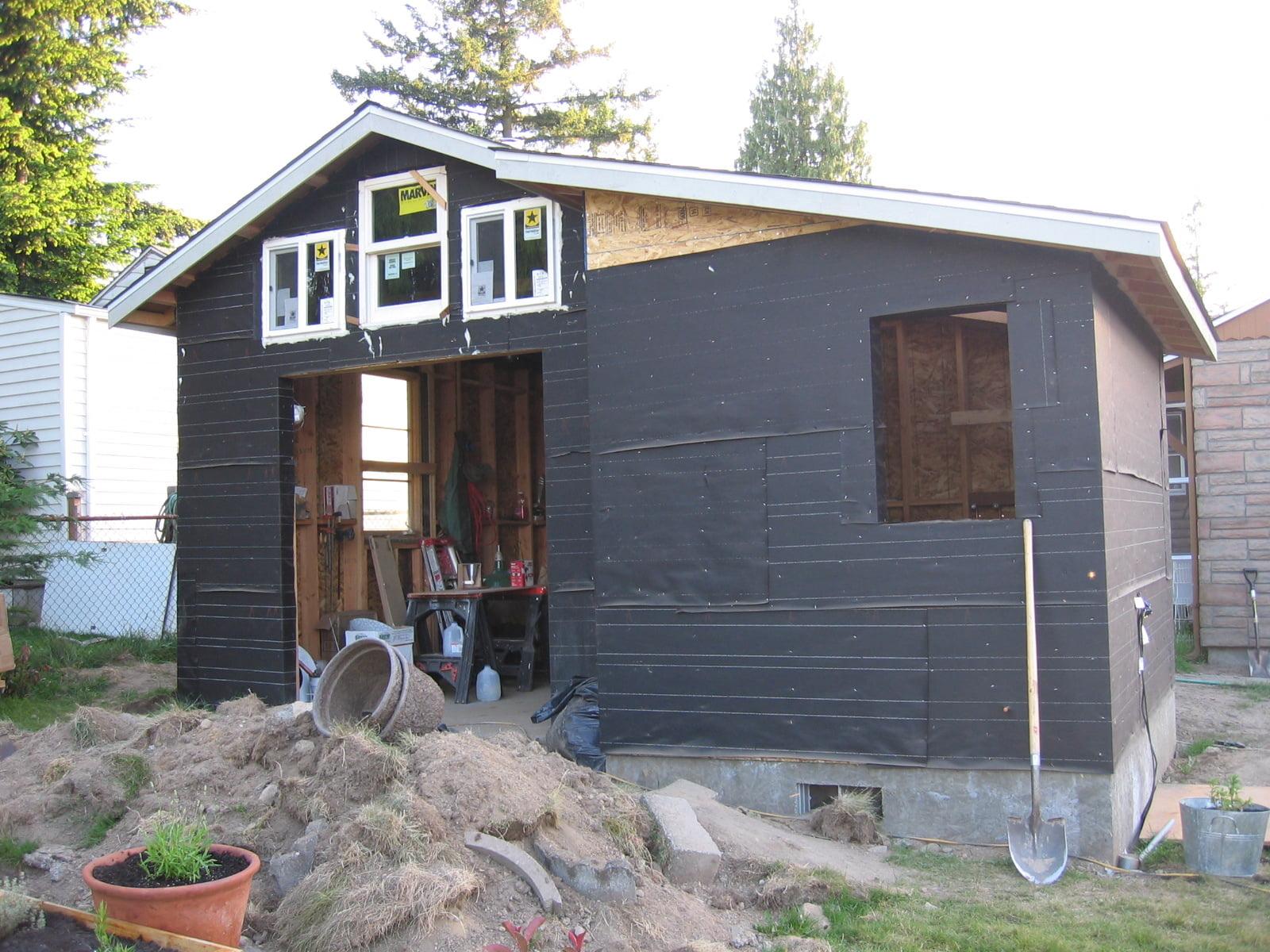 Как переделать гараж под жилой дом — пошаговая инструкция