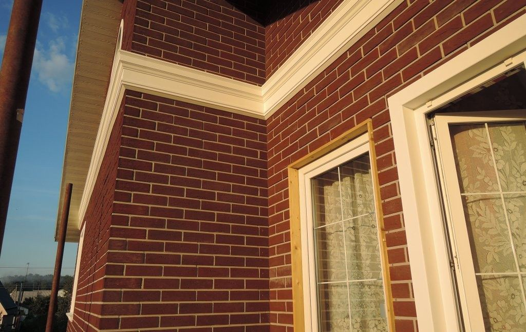 Облицовка дома из сип-панелей керамическим кирпичом: технология работ с фото