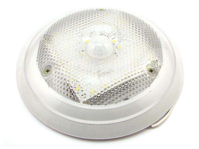 Монтаж и настройка светодиодных светильников с датчиками движения