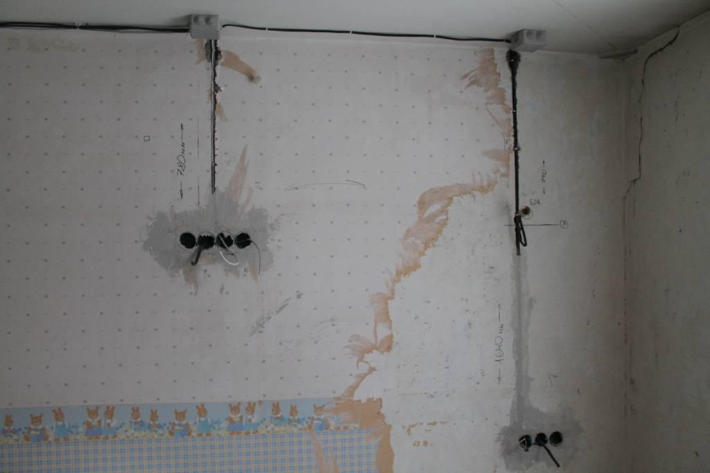 Как поменять проводку в квартире панельного дома своими руками