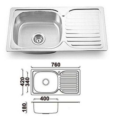 Виды и выбор кухонной мойки