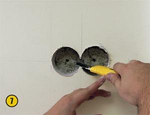 Монтаж розеток в стены из гипсокартона своими руками