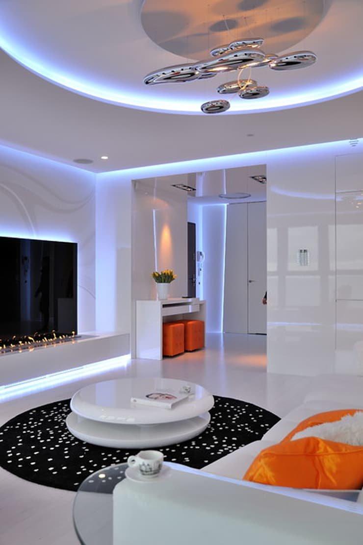 Организация светодиодной подсветки в квартире своими руками