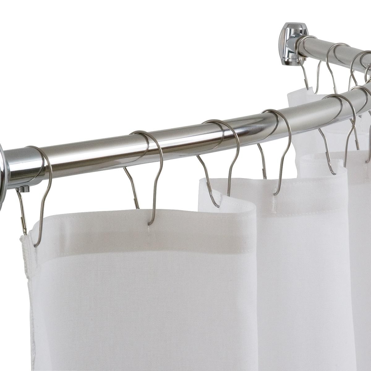 Штанга (карниз) для шторы в ванной
