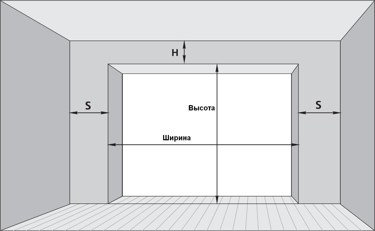 Монтаж секционных ворот в гараже — все тонкости установки