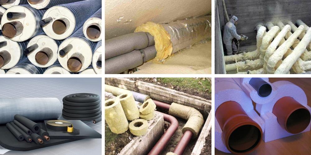 Теплоизоляция для труб водоснабжения: обзор утеплителей от замерзания труб в земле