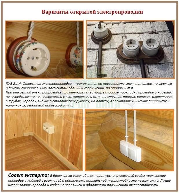 Требования безопасности и преимущества наружной проводки в квартире