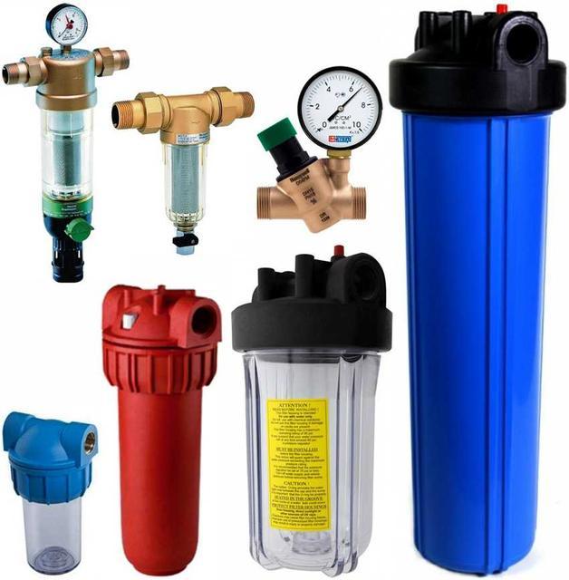 Какие бывают очищающие фильтры для воды