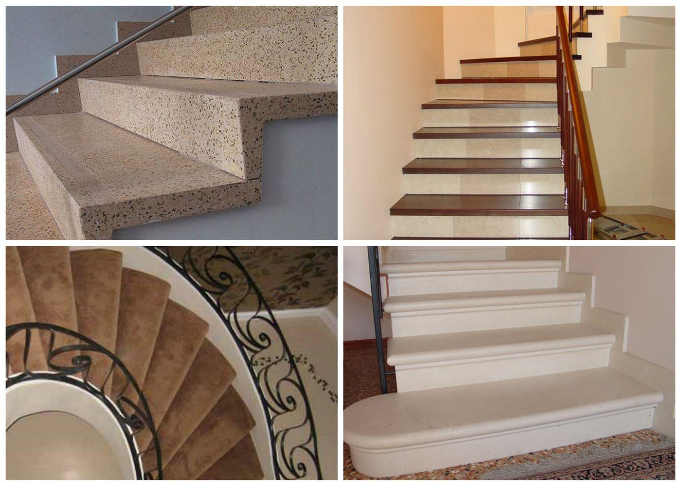 Чем отделать бетонную лестницу в частном доме