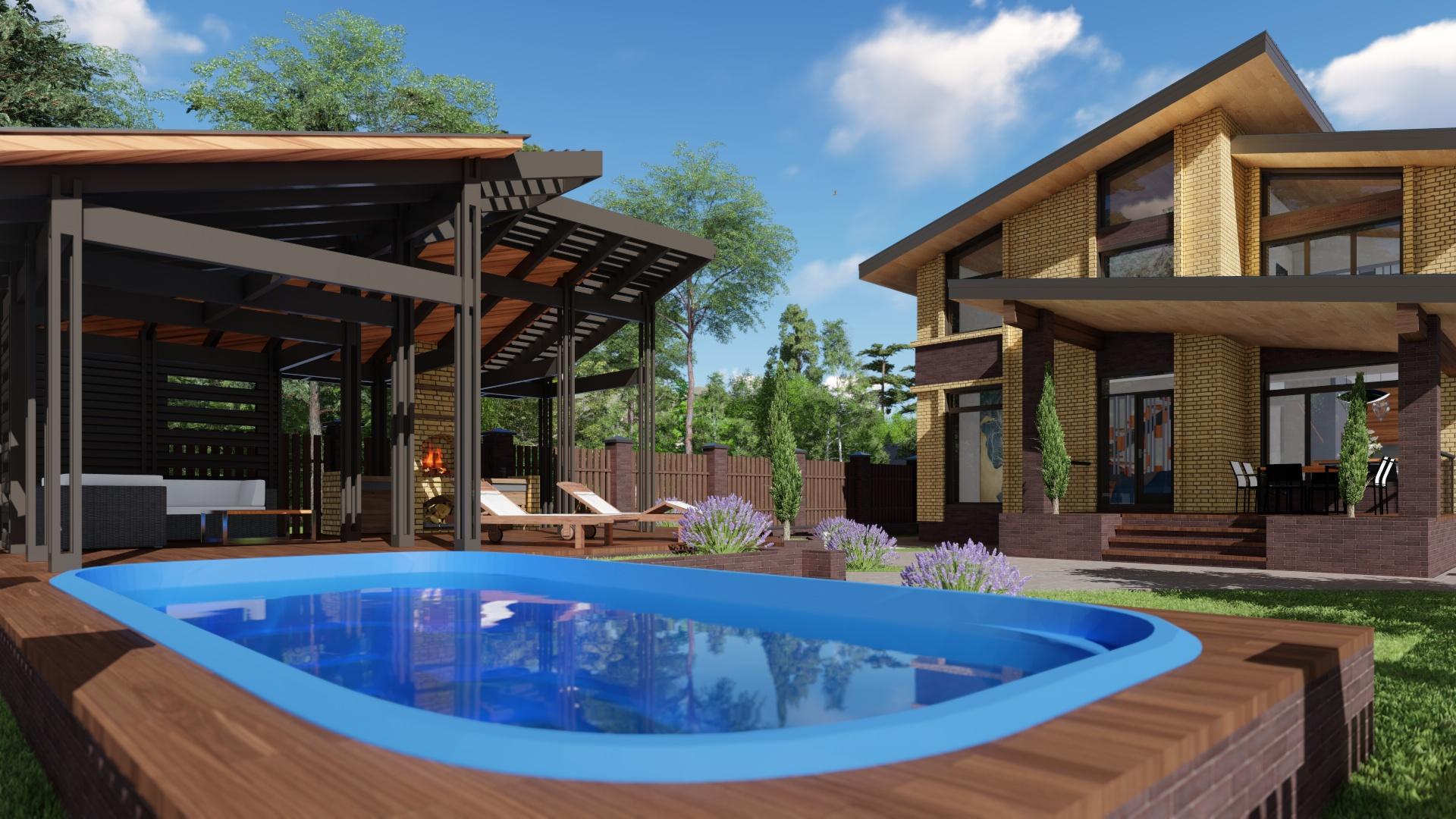 Как построить бассейн в частном доме — плюсы и минусы