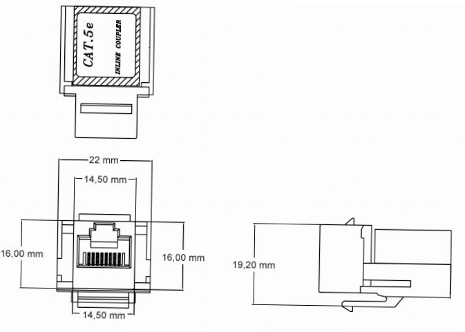 Конструктивные особенности и распиновка розеток RJ-45