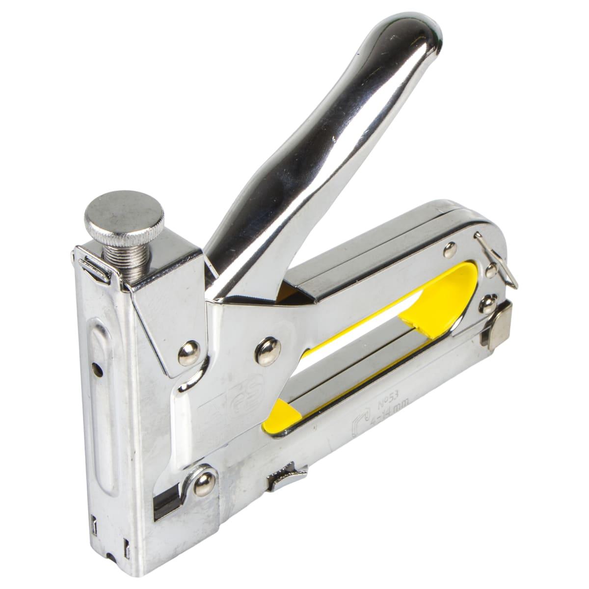 Строительные степлеры: механические, электрические, пневматические