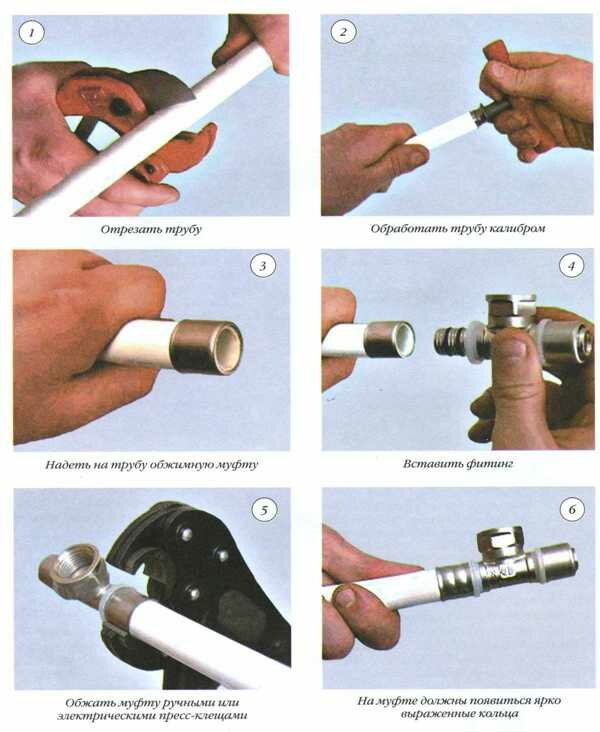 Правила соединения пластиковых канализационных труб клеем