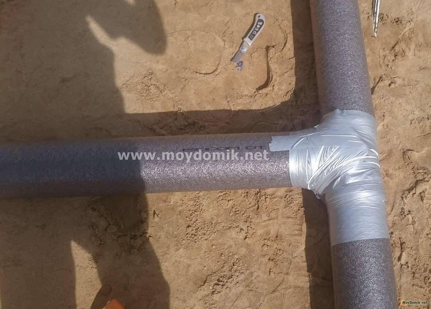 Нужно ли утеплять канализационные трубы в частном доме
