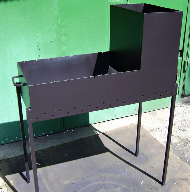 Как сделать мангал из металла своими руками