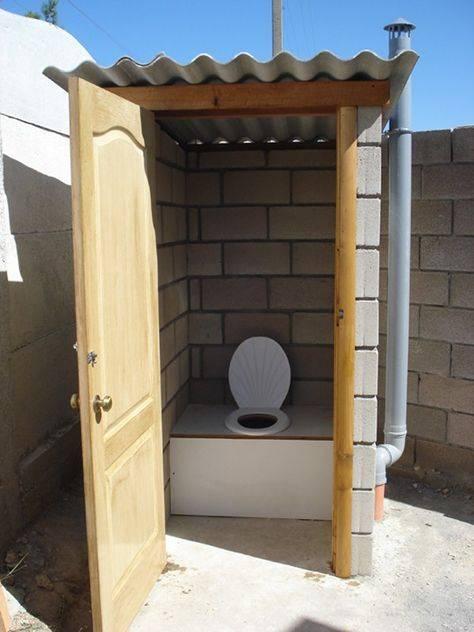 Варианты дачного туалета без выгребной ямы
