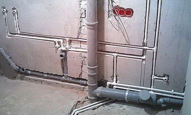 Замена чугунной канализации в квартире на пластиковую