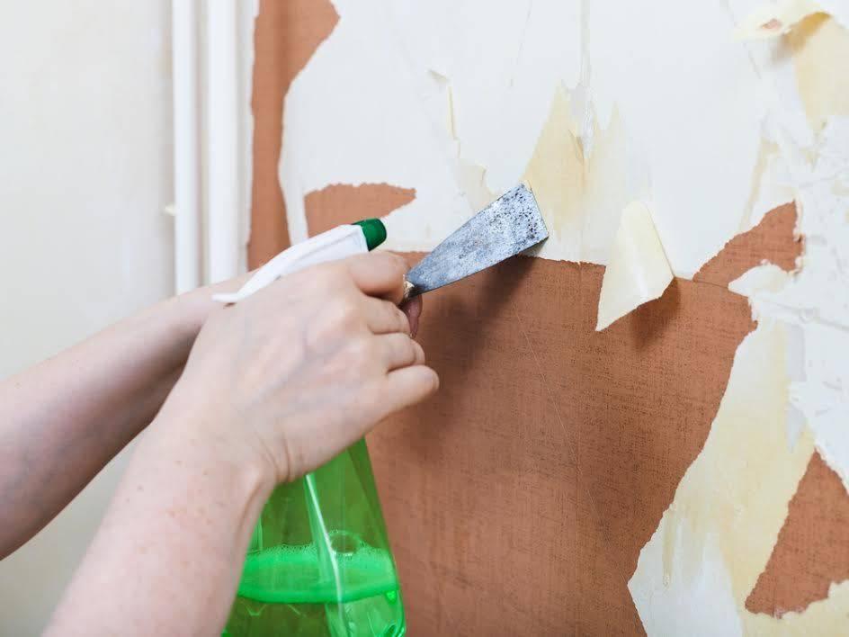 Как снять обои со стен быстро: снимаем старые обои, изучив основные способы