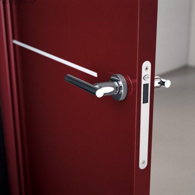 Магнитные замки и защелки для межкомнатных дверей — современно и практично!