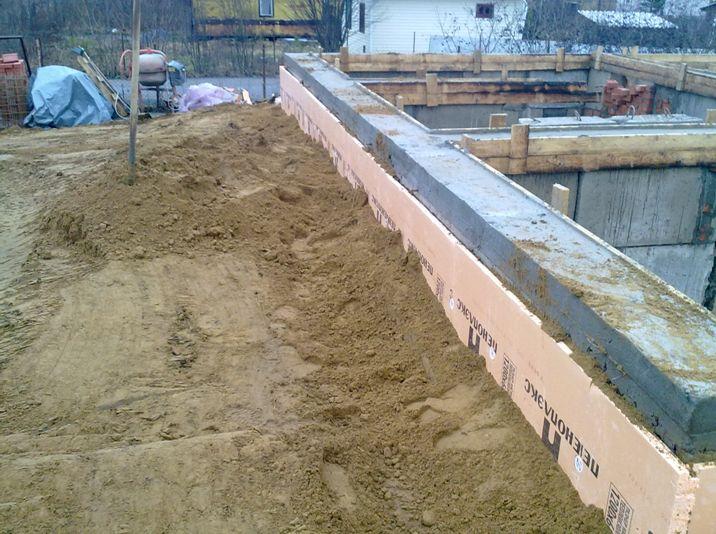 Ленточный фундамент два в одном: строим и утепляем с ПЕНОПЛЭКС®