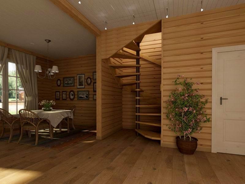Отделка деревянного дома внутри: разбираемся как сделать дом более уютным