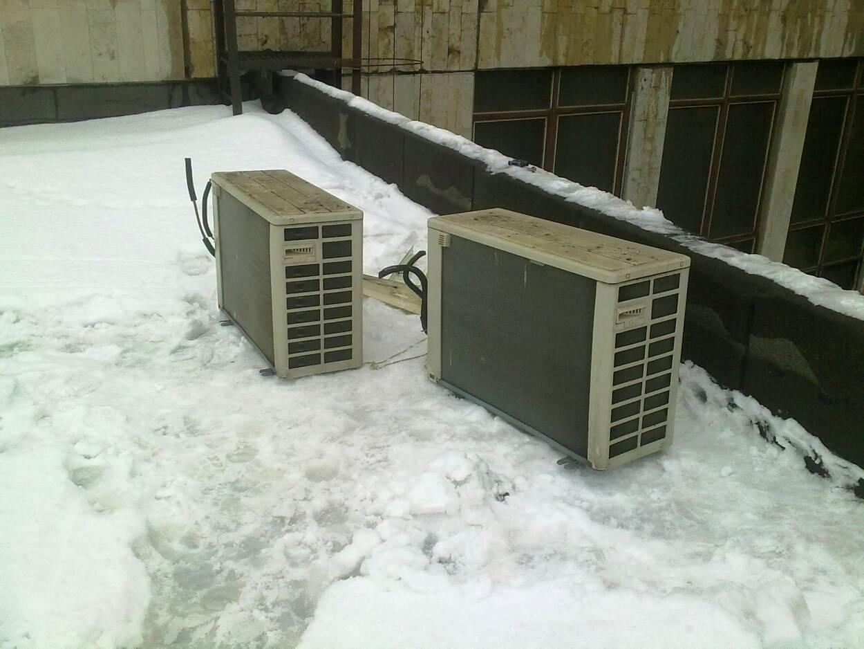 Можно ли использовать кондиционер зимой и при какой температуре