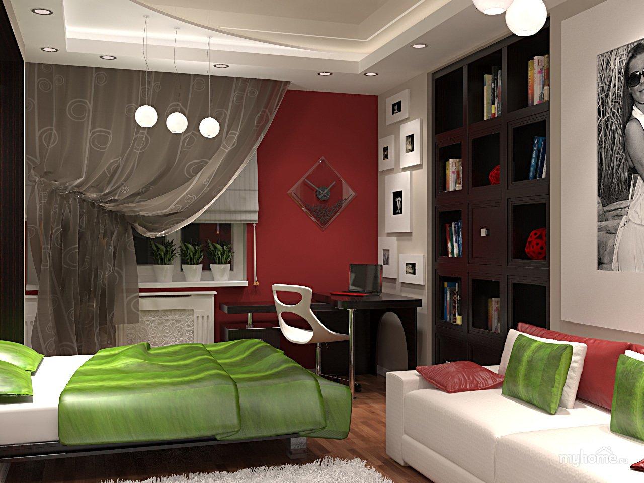 Интерьер маленькой комнаты своими руками