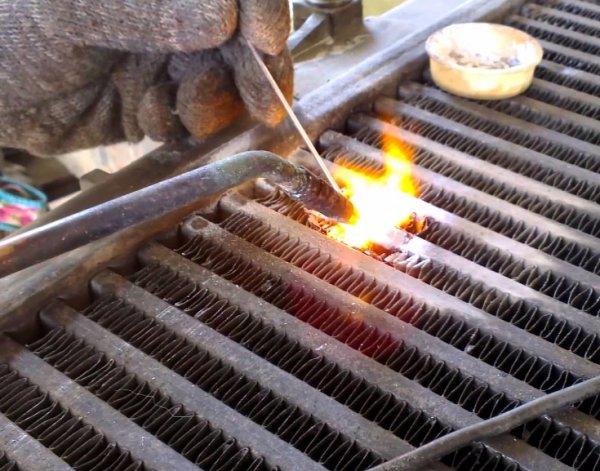 Возможна ли пайка алюминиевых радиаторов отопления