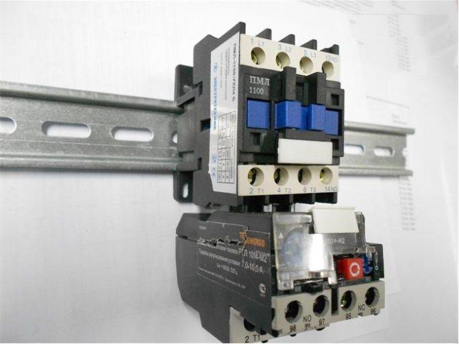 Схема подключения и области применения электромагнитных пускателей