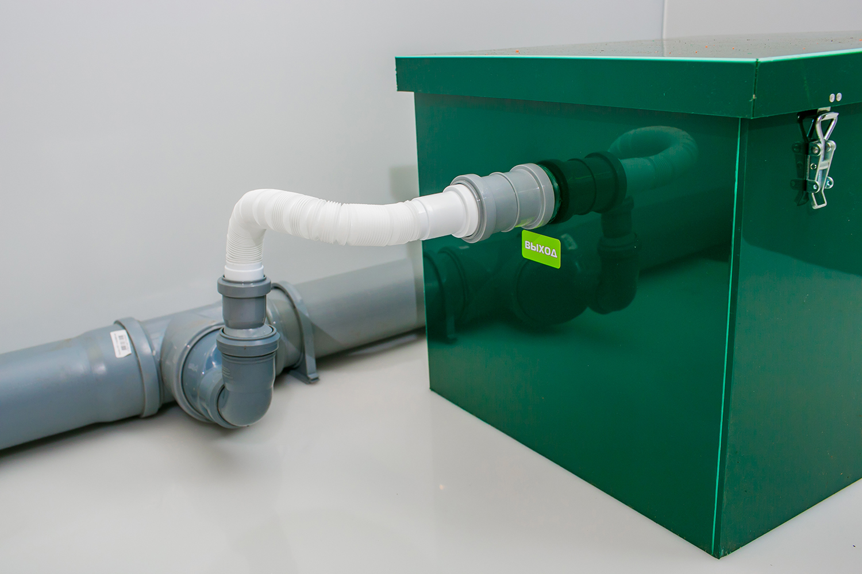 Установка жироотделителей на канализацию своими руками