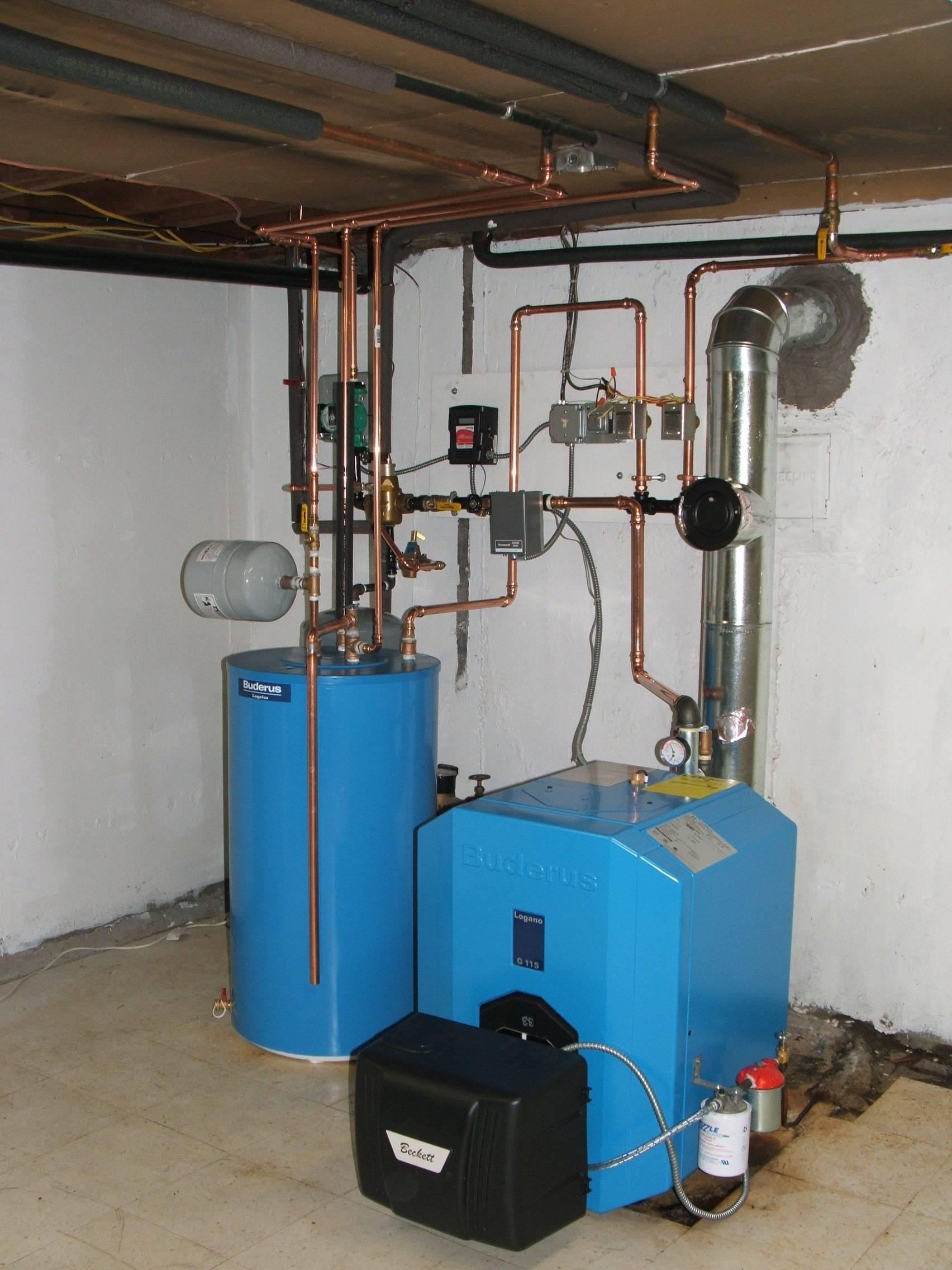Котел отопления на дизельном топливе для частного дома