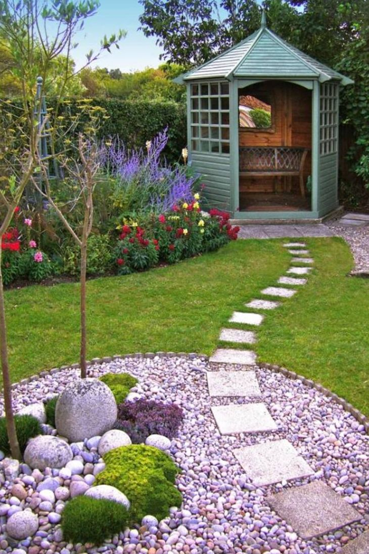 Как украсить садовый, приусадебный, дачный участок (50 фото)